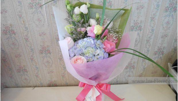 ช่อดอกไม้สีหวาน