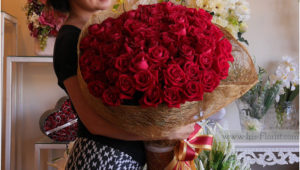 99 red rose ช่อกุหลาบแดง 99 ดอก