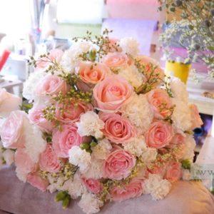 ช่อดอกไม้สีหวานๆ